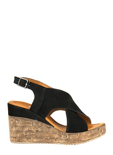 Ziya Hakiki Deri Sandalet Siyah